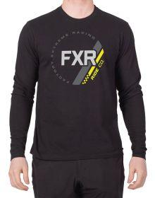 FXR Ride Co Long Sleeve Shirt Black/Hi Vis