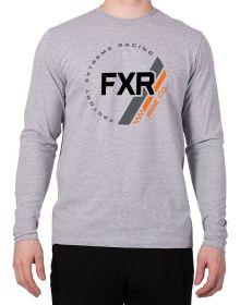 FXR Ride Co Long Sleeve Grey Heather/Orange