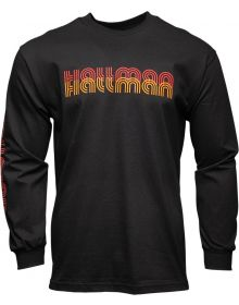 Thor Hallman LS 76 T-Shirt Black