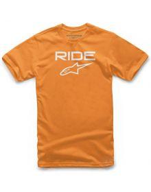 Alpinestars Ride 2.0 Youth T-shirt Orange/White