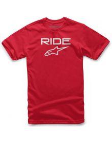 Alpinestars Ride 2.0 Youth T-shirt Red