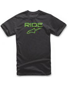 Alpinestars Ride 2.0 Youth T-shirt Black/Green