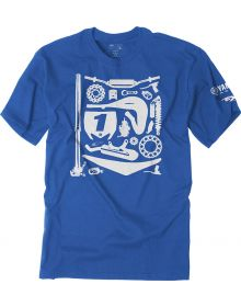 Factory Effex Yamaha Dissection Youth T-Shirt Blue