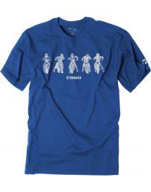 Factory Effex Yamaha Line Up Youth T-Shirt Royal Blue