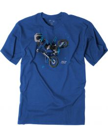 Factory Effex Moto Kids Blue T-Shirt Blue