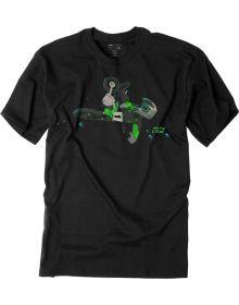 Factory Effex Moto Kids Green T-Shirt Black