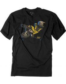 Factory Effex Moto Kids Yellow T-Shirt Black