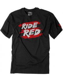 Factory Effex Honda Ride Red Stripes Youth T-shirt Black
