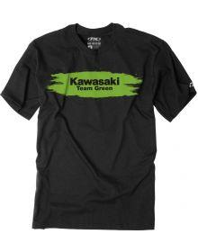 Factory Effex Kawasaki Team Green Youth T-shirt Black