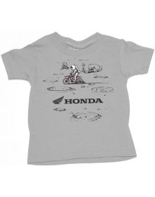 Factory Effex Honda Lunar Toddler T-shirt Gray