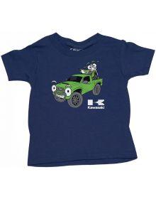 Factory Effex Kawasaki Truckin Toddler T-shirt Navy