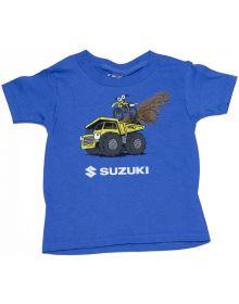 Factory Effex Suzuki Earthmover Toddler T-shirt Royal
