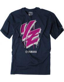 Factory Effex Yamaha Drip Youth T-Shirt Navy