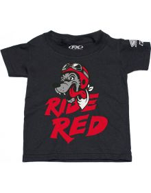 Factory Effex Honda Ride Red Wolf Toddler T-Shirt Black