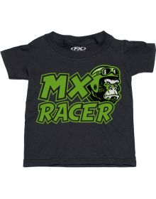 Factory Effex Kawasaki MX Racer Toddler T-Shirt Black