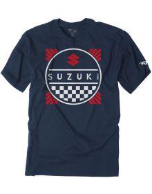 Factory Effex Suzuki Title Youth T-shirt Navy