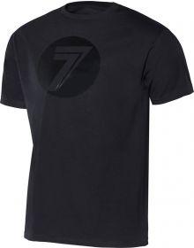 Seven Dot Youth T-Shirt Black/Black