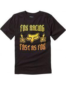 Fox Racing Ruppe Youth T-Shirt Black