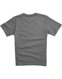 Fox Racing Legacy Youth T-Shirt Heather Graphite