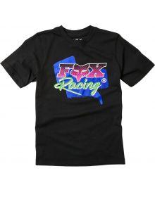 Fox Racing Castr Youth T-Shirt Black