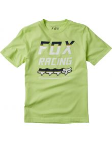 Fox Racing Full Count Youth T-Shirt Lime