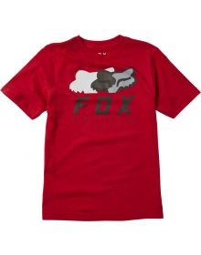 Fox Racing Chromatic Youth T-Shirt Chili