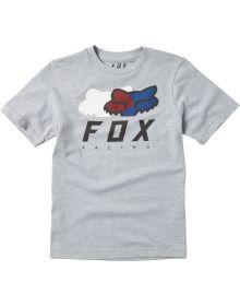 Fox Racing Chromatic Youth T-Shirt Light Gray
