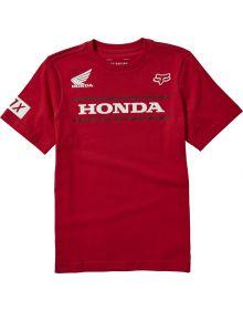 Fox Racing Honda Youth T-shirt Chili