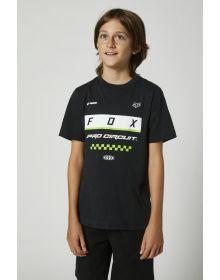 Fox Racing PC Block Youth T-shirt Black