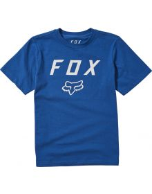 Fox Racing Legacy Moth Youth T-shirt Royal Blue
