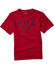Fox Racing Legacy Moth Youth T-shirt Chili