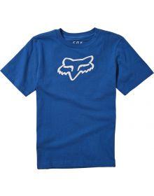 Fox Racing Legacy Youth T-shirt Royal Blue