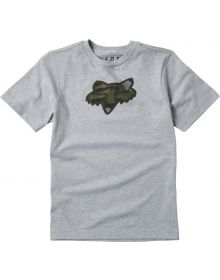 Fox Racing Predator Youth T-shirt Light Heather Gray