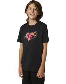 Fox Racing Pyre Youth T-shirt Black