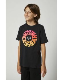 Fox Racing Revolver Youth T-shirt Black