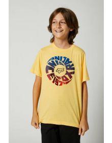 Fox Racing Revolver Youth T-shirt Sunburst