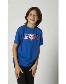 Fox Racing Live Free Youth T-shirt Royal Blue