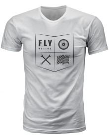 Fly Racing All Things Moto Youth T-Shirt White