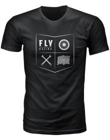 Fly Racing All Things Moto Youth T-Shirt Black