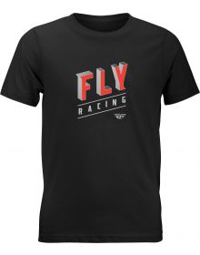 Fly Racing Dimension Youth T-Shirt Black