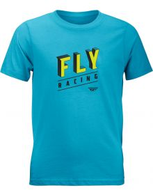 Fly Racing Dimension Youth T-Shirt Turquoise