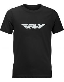 Fly Racing Corporate Youth T-shirt Black