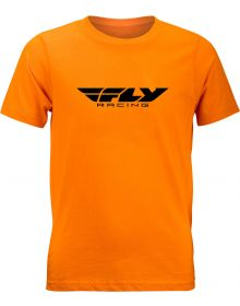 Fly Racing Corporate Youth T-shirt Orange