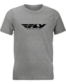 Fly Racing Corporate Youth T-shirt Dark Grey Heather