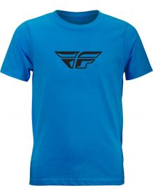 Fly Racing F-Wing Youth T-Shirt Turquoise