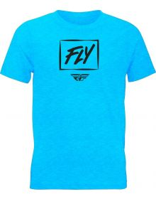 Fly Racing Zoom Youth T-Shirt Blue