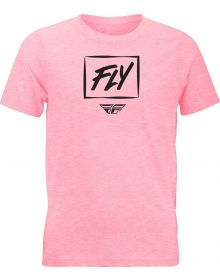 Fly Racing Zoom Youth T-Shirt Pink