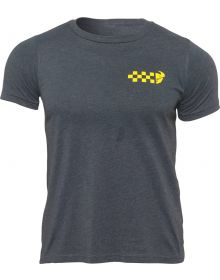 Thor Checkers Youth T-Shirt Charcoal