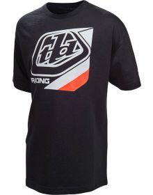 Troy Lee Designs Precision SE Youth T-shirt Black/Orange