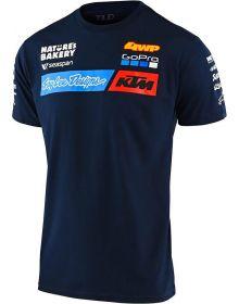 Troy Lee Designs KTM Team 2020 Youth T-Shirt Navy